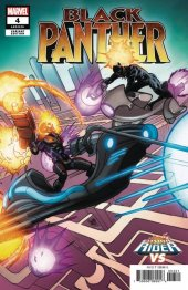 Black Panther #4 Ferry Cosmic Ghost Rider Vs. Variant