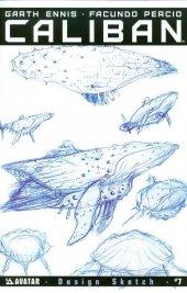 Caliban #7 Design Sketch Variant