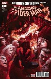 The Amazing Spider-Man #800 Original Cover