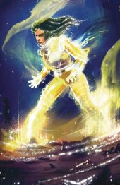 Mighty Morphin Power Rangers #40 Showcase Exclusive Griffiths Yellow Ranger Variant