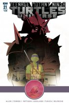 Teenage Mutant Ninja Turtles: Universe #21 Cover B Torres