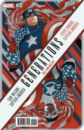 Generations: Captain Americas #1 Stephanie Hans Variant