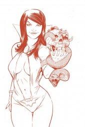 Vampirella / Red Sonja #5 1:15 Incentive