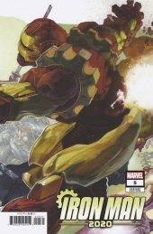 Iron Man 2020 #5 Simone Bianchi Connecting Variant