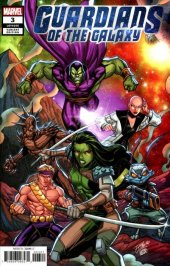 Guardians Of The Galaxy #3 1:25 Ron Lim Variant