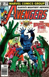 The Avengers #209 Newsstand Edition