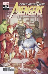 Avengers #31 Chinese New Year Variant Edition
