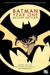 batman: year one deluxe edition hc