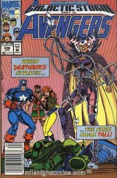 The Avengers #346 Newsstand Edition