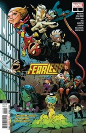 Fearless #1 2nd Printing