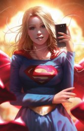 Supergirl #42 Card Stock Variant Cover