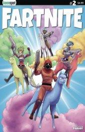 Fartnite: Chapter Poo #1 Cover B Llama Riders In Sky