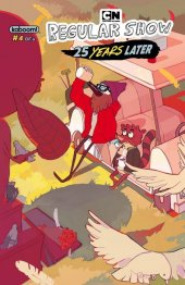 Regular Show: 25 Years Later #4 Subscription Drozdova Variant