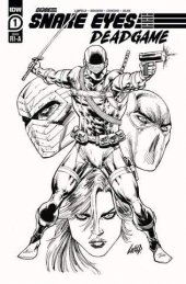 Snake Eyes: Deadgame #1 1:10 Incentive Variant
