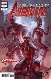 Avengers #22 Junggeun Yoon Carnage-ized Variant