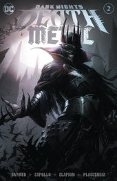 Dark Nights: Death Metal #2 Francesco Mattina Trade Dress Variant