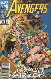 The Avengers #358 Newsstand Edition