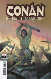 Conan the Barbarian #1 Ribic Teaser Variant