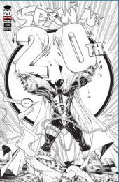 Spawn #220 Black & White Variant