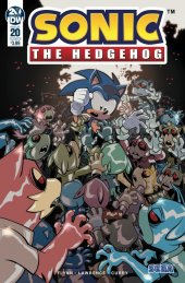 Sonic the Hedgehog #20 Cover B Lawrence