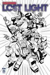 Transformers: Lost Light #23 RI Cover Lawrence