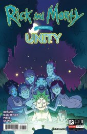 Rick And Morty Presents: Unity #1 Original Cover