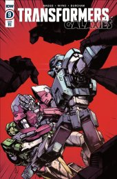 Transformers: Galaxies #9 1:10 Incentive Varaint