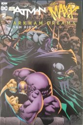 Batman / The Maxx: Arkham Dreams #2 Variant Cover (Yellow Lettering)