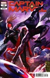 Captain Marvel #13 In-Hyuk Lee Connecting Variant