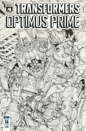 Optimus Prime #14 Cover C (Artist Edition - Andrew Griffith)