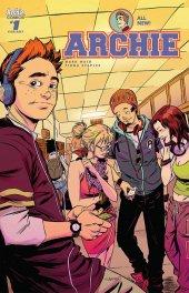 Archie #1 Sanford Greene Cover