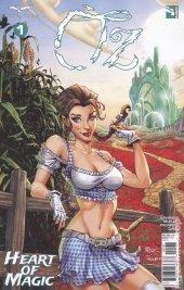 Oz Heart Of Magic #1 Cover C Royle