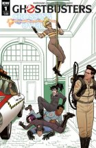 Ghostbusters: Crossing Over #1 Original Cover