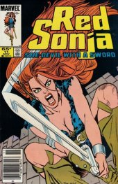 Red Sonja #11 Newsstand Edition