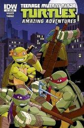 Teenage Mutant Ninja Turtles: Amazing Adventures #2 Subscription Variant