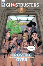 Ghostbusters: Crossing Over #6 1:10 Incentive Variant