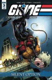G.I. Joe: A Real American Hero - Silent Option #3 Original Cover