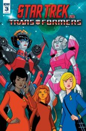 Star Trek vs. Transformers #3 1:10 Incentive Variant