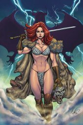 Red Sonja: Age of Chaos #6 Garza Ltd Virgin Cover