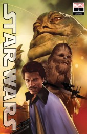 Star Wars #2 1:25 Variant Cover by Ben Oliver