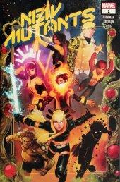 New Mutants #1 Walmart Exclusive Variant (Yellow & Blue Logo)