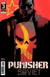 Punisher Soviet #3 Variant Cover