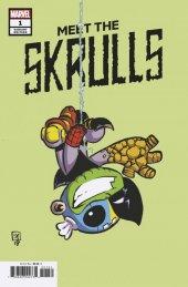 Meet the Skrulls #1 Skottie Young Variant