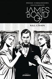 James Bond: Kill Chain #3 Cover B 1:10 B&w Cover