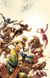 Mighty Morphin Power Rangers / Teenage Mutant Ninja Turtles #1 FOC Variant