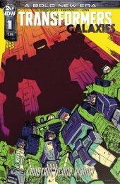 Transformers: Galaxies #1 Cover B Roche