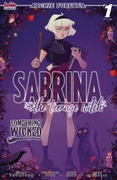 Sabrina The Teenage Witch: Something Wicked #1 Cover B Boo