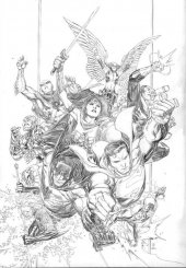 Justice League #1 1:100 Cheung Pencils Variant
