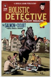 Dirk Gently: The Salmon of Doubt #1 Variant Edition