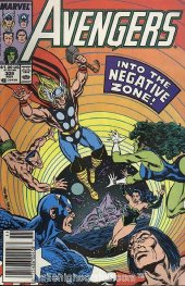 The Avengers #309 Newsstand Edition